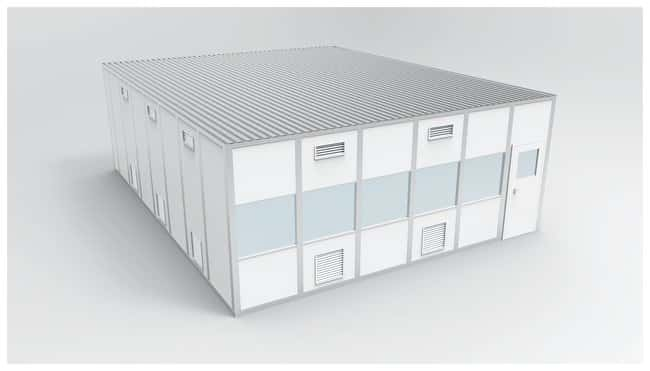 PortaFabCleanLine™ S3000 Modular Wall System Cleanroom - ISO 8
