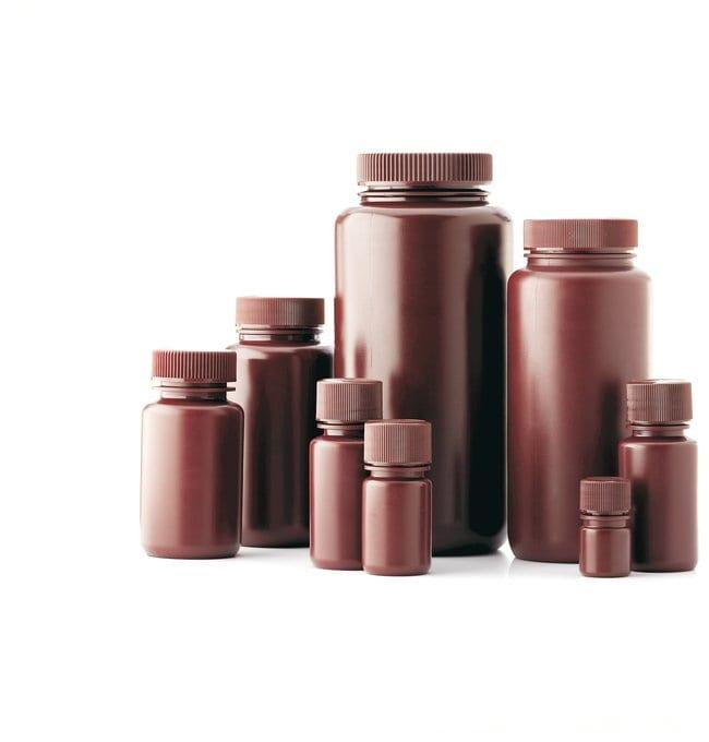 DWK Life SciencesFlacons en HDPE à col large résistant aux fuites: Environmental Sampling Bottles and Accessories Bottles