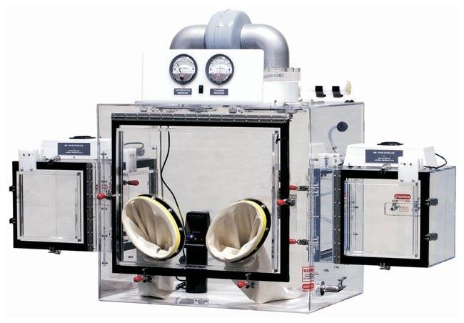 Plas Labs 840 Series Powder Handling Glove Boxes Chamber: 60.1 x 118.1