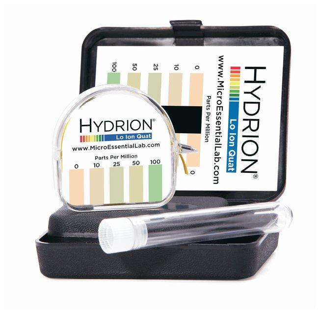 Micro Essential LabHydrion Quaternary Test Kits QL-110 Lo Ion Quat Test:pH