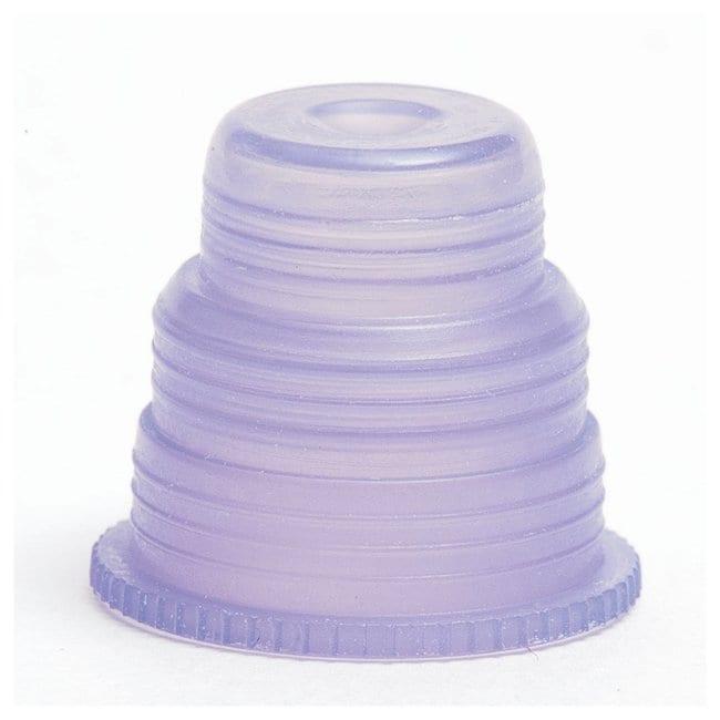 Bio Plas Hexa-Flex Safety Caps Lavender:Test Tubes, Vials, Caps and Closures
