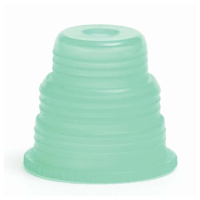 Bio Plas Hexa-Flex Safety Caps Green:Test Tubes, Vials, Caps and Closures