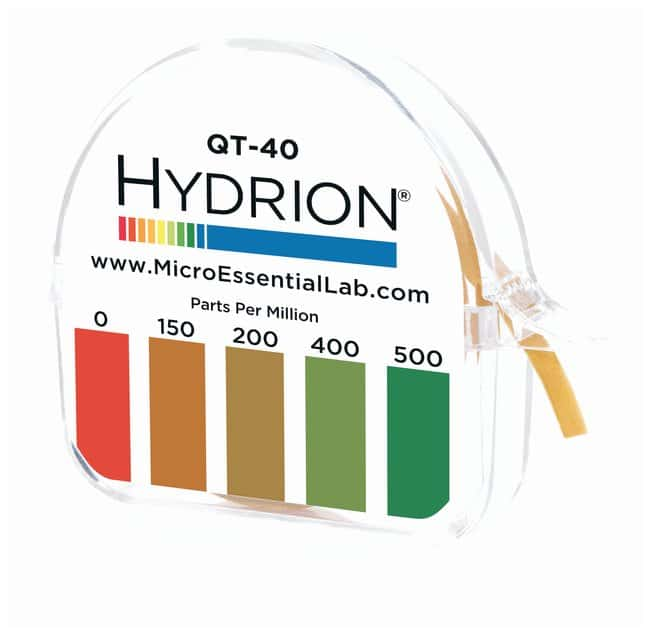 Micro Essential LabHydrion Sanitizer Test Kits: Quaternary Test Paper Kits