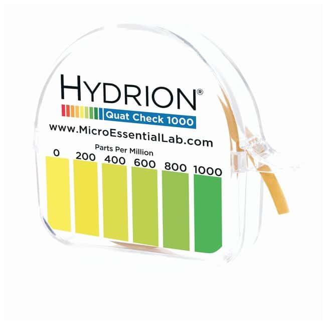 Micro Essential LabHydrion™ Sanitizer: Quaternary Test Paper