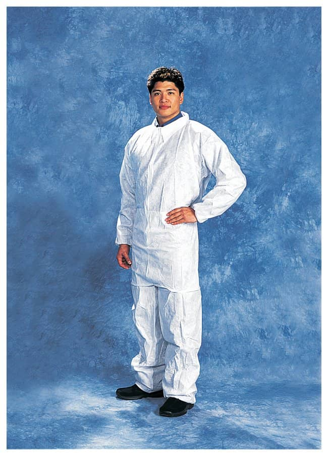 Tians Environstar SPP Coveralls Elastic Waist; Large:Gloves, Glasses and