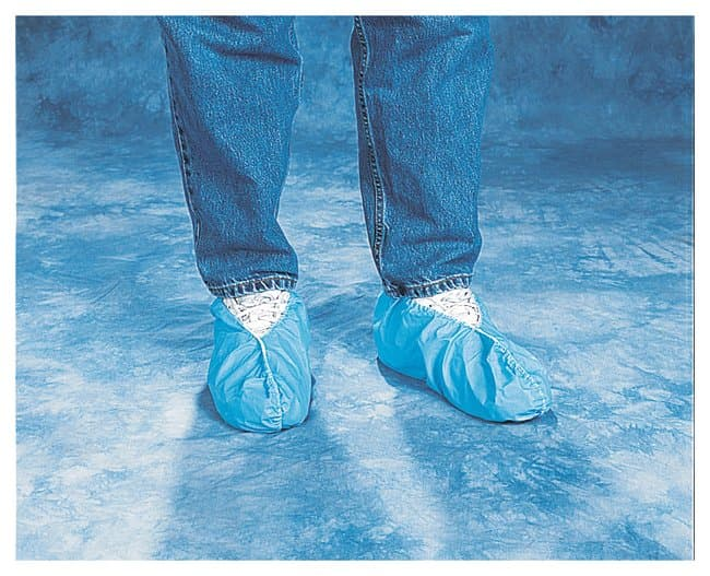 TiansHeavy Embossed Polyethylene Shoe Covers X-Large:Personal Protective