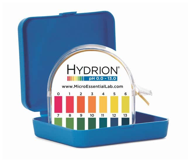 Micro Essential Lab Insta-Chek 0-13 Wide-Range pH Test Paper/Dispenser:Thermometers,