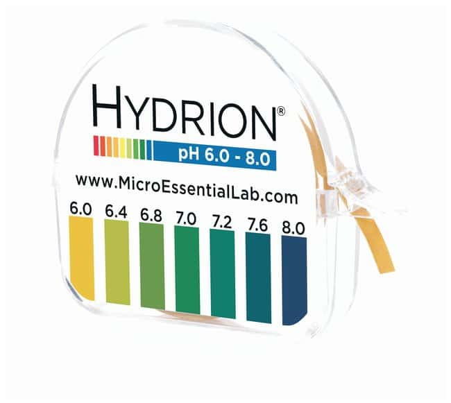 Micro Essential LabDouble-Roll Dispensers with Hydrion™ pH Test Papers