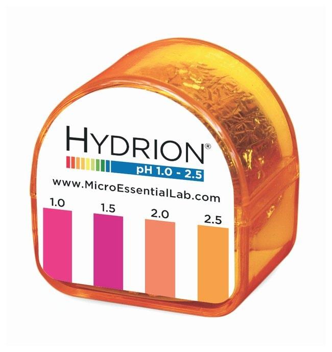 Micro Essential LabpH Test Paper Refills for Hydrion Dispensers pH-range: