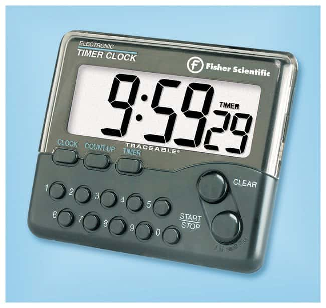 fisherbrand traceable electronic timer clock 10 hour