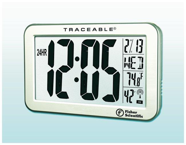 Fisherbrand Traceable JumboDigit RadioControlled Wall Clock