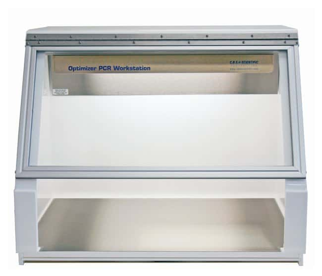 CBS Scientific Optimizer PCR Workstation with Stainless Steel Work Surface