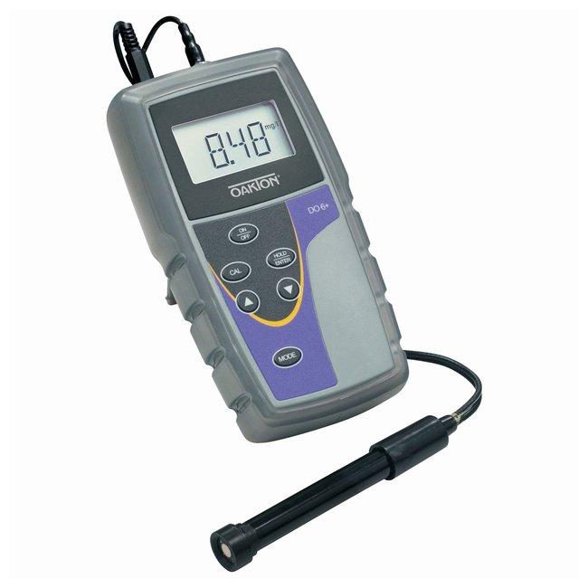 OaktonDO Six Portable Dissolved Oxygen Meters DO 6+ Meter w/protective