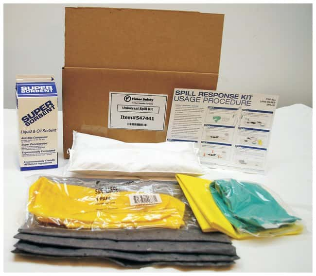 Fisher Scientific Universal Spill Kit  :Teaching Supplies:Classroom Safety
