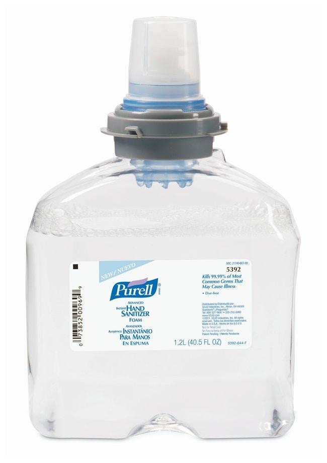 Purell Advanced Instant Hand Sanitizer Foam TFX 1200mL Refill  Sanitizer