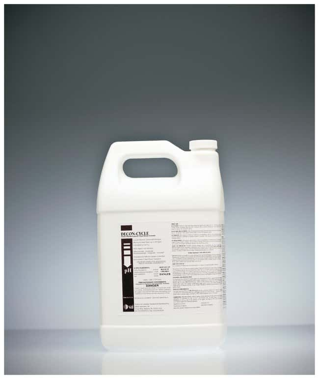 VAI DECON-CYCLE II Germicidal Detergent 1gal.; Nonsterile:Gloves, Glasses