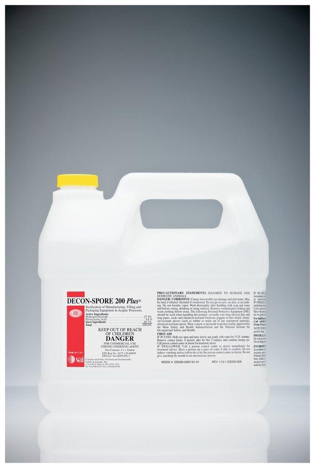 VAI Decon-Spore 200 Plus Disinfectant Solution 1 gal. concentrate; Nonsterile:Testing