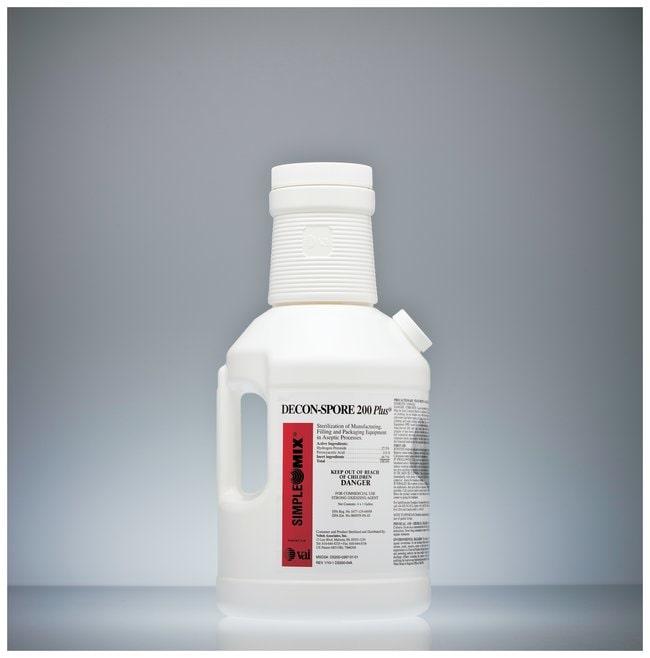 VAI Decon-Spore 200 Plus Disinfectant Solution Disinfectant dose; SimpleMix;