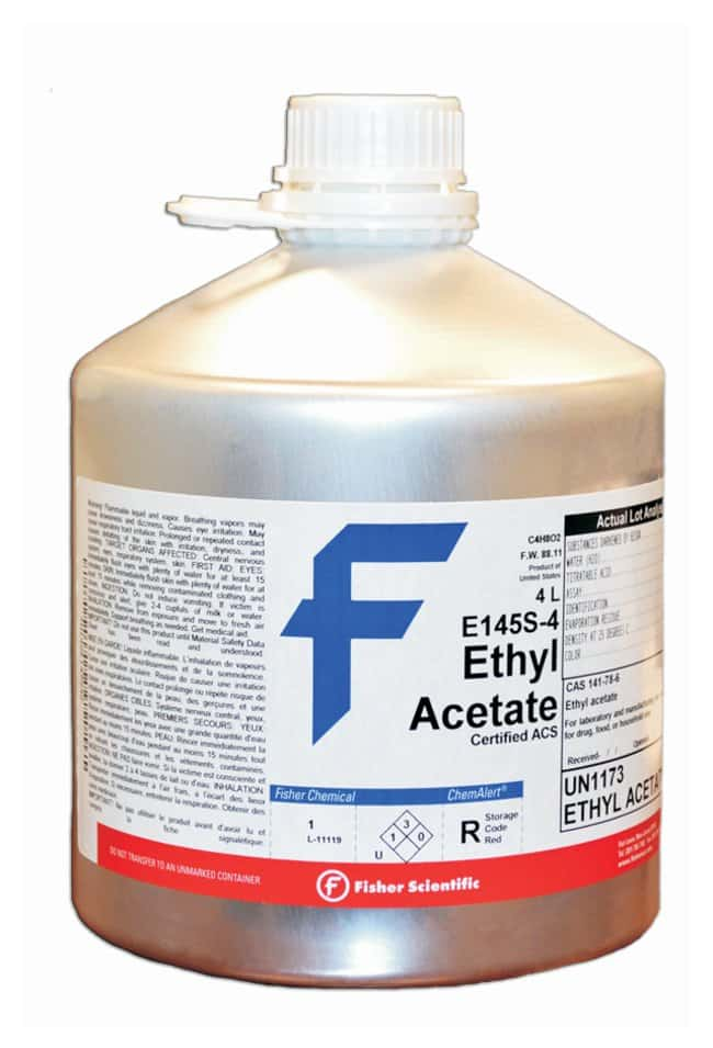 Ethyl Acetate (Certified ACS), Fisher Chemical™