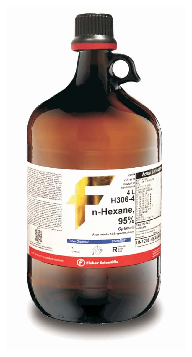 n-Hexane, 95%, Optima™ for HPLC and GC/MS, Fisher Chemical™