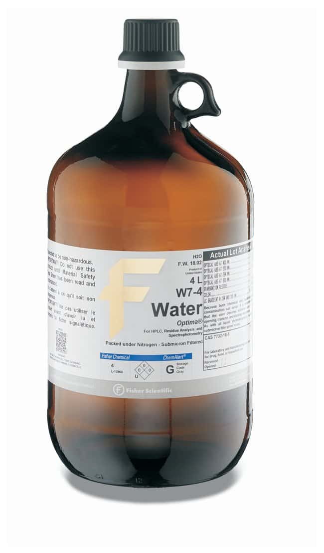 Water Optima For Hplc Fisher Chemical