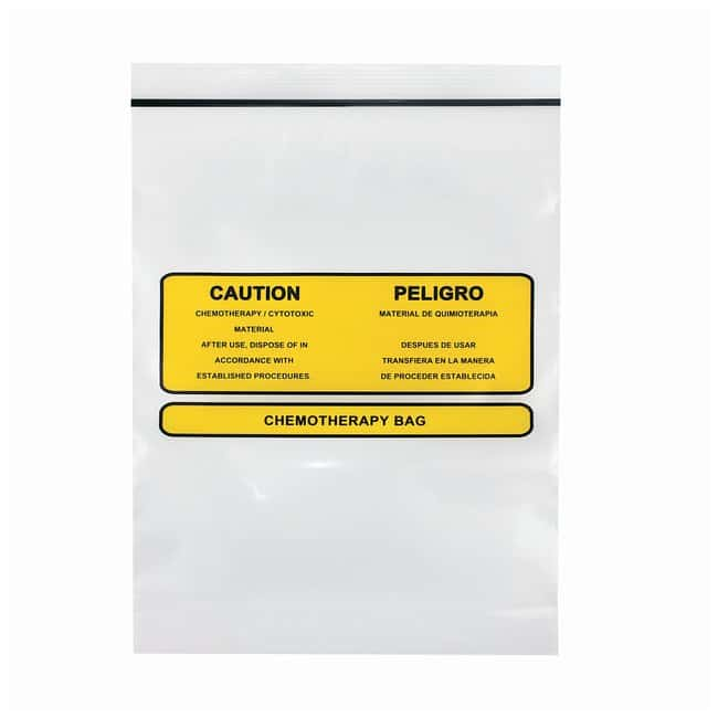 Minigrip LabGuard Chemotherapy Bags with Absorbent Pad Dimension: 9 x 12