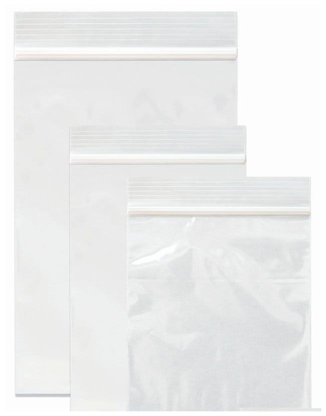 Minigrip Reloc ZIPPIT Plain Reclosable Zipper Bags Thickness: 2 mil; Dimension: