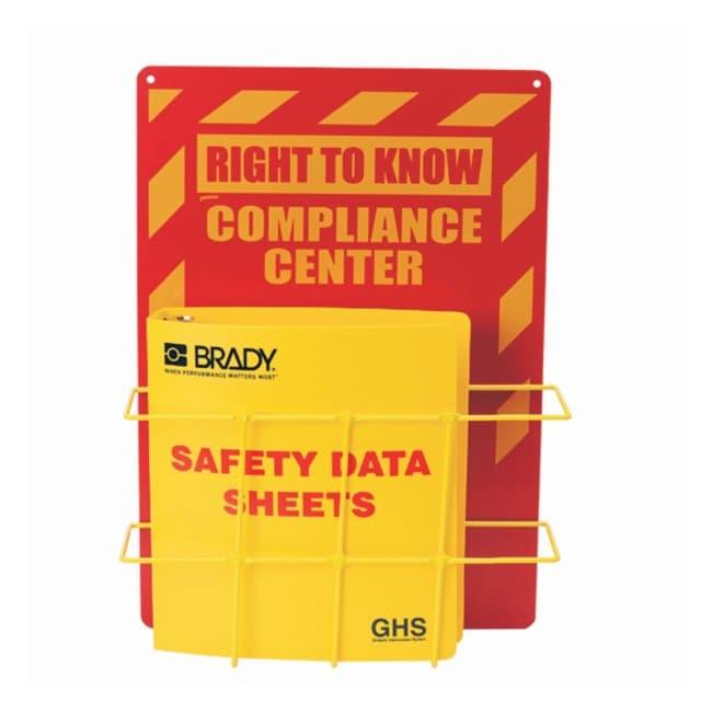 Brady Globally Harmonized System (GHS) SDS Centers  English