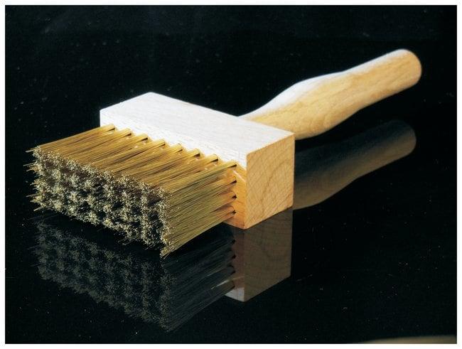 W.S. Tyler Rectangular Brass Sieve Brush Rectangular Brass Sieve Brush:Gloves,