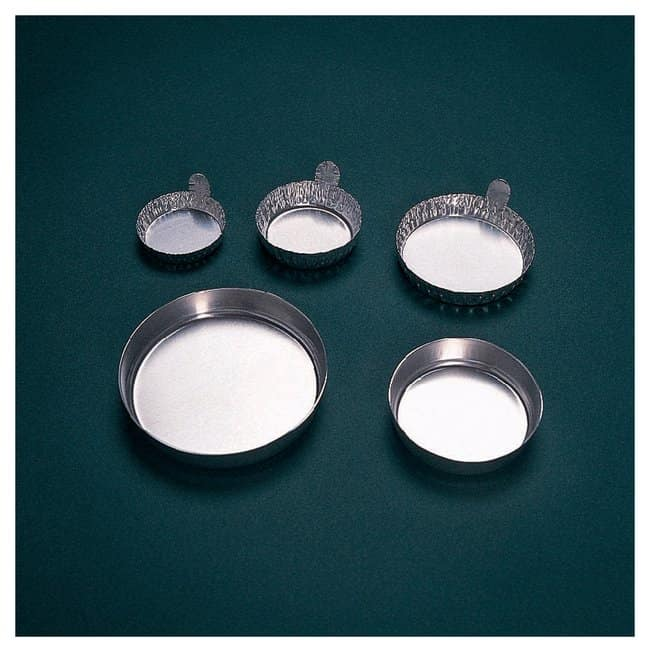 Fisherbrand™ Aluminum Weighing Dishes With Fluted Sides; Capacity: 20mL ( 0.67 oz.) Fisherbrand™ Aluminum Weighing Dishes