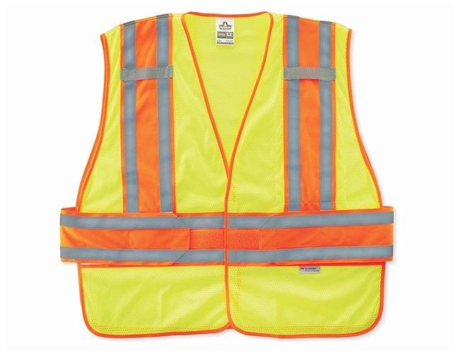 Ergodyne GloWear Hi-Vis Class II Vests:Gloves, Glasses and Safety:Lab Coats,