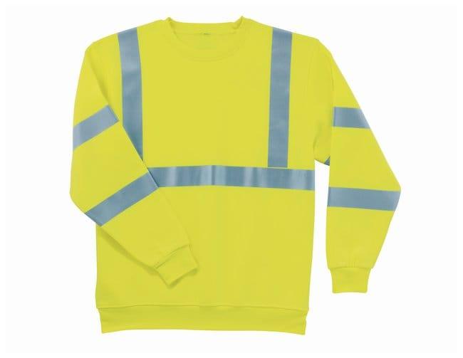 Ergodyne GloWear 8397 Class III Hi-Vis Sweatshirt:Gloves, Glasses and Safety:Lab
