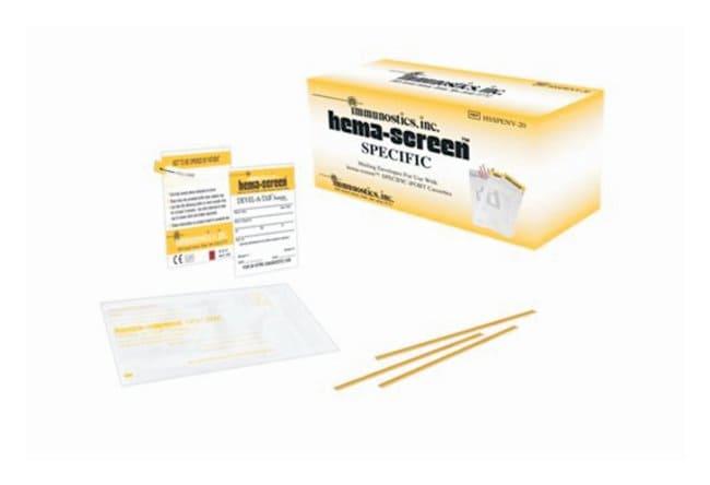 ImmunosticsHema-Screen SPECIFIC Mailing Envelope Box 20 Test Kit:Blood,