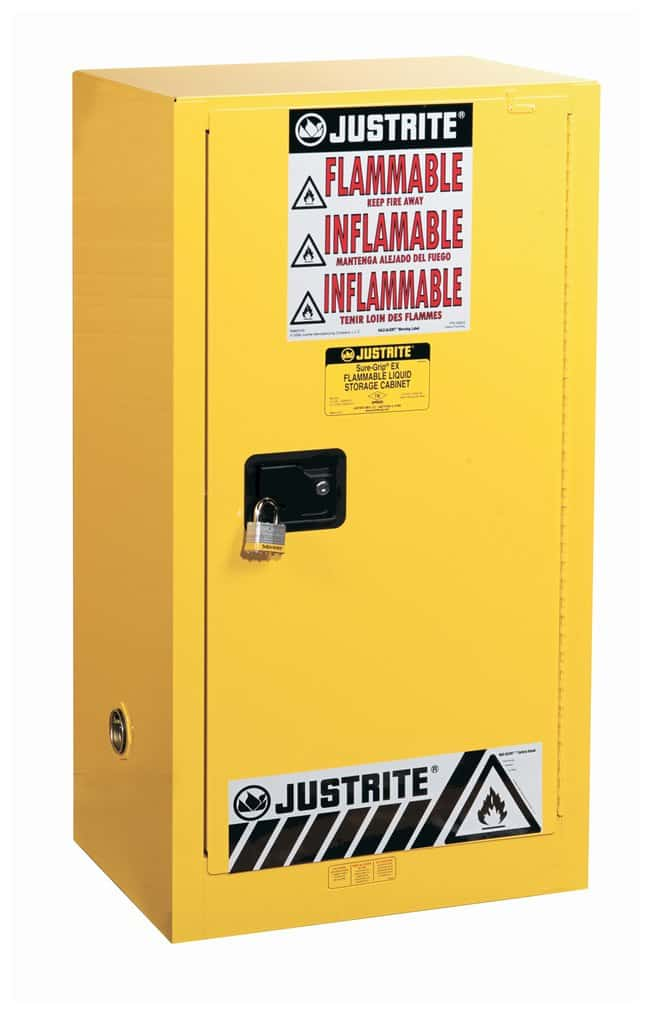 Justrite™ Sure-Grip™ EX Countertop and Compac Safety Cabinet