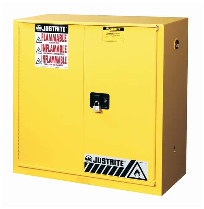 Justrite Sure-Grip EX Flammable Safety Cabinet :Gloves, Glasses and Safety:Hazardous