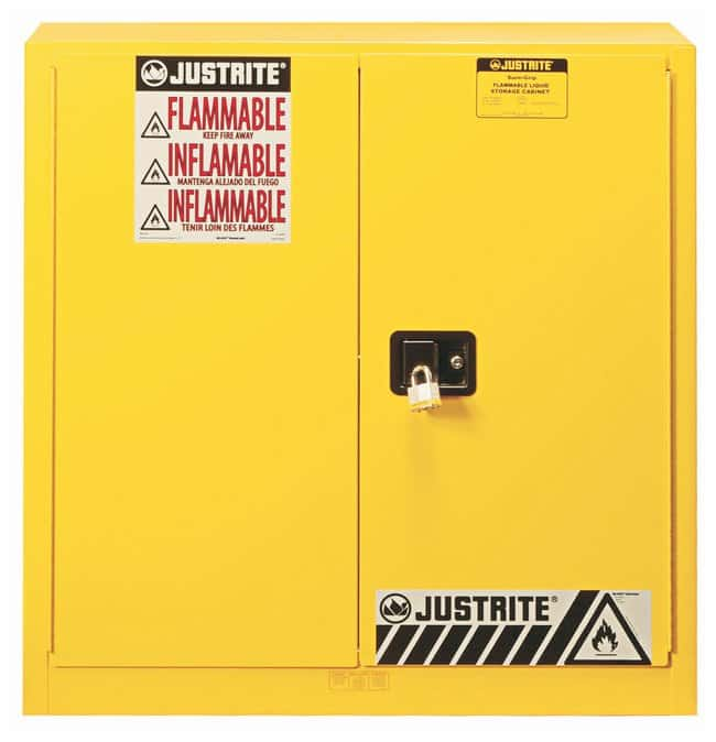 Justrite™ Sure-Grip™ EX Flammable Safety Cabinet