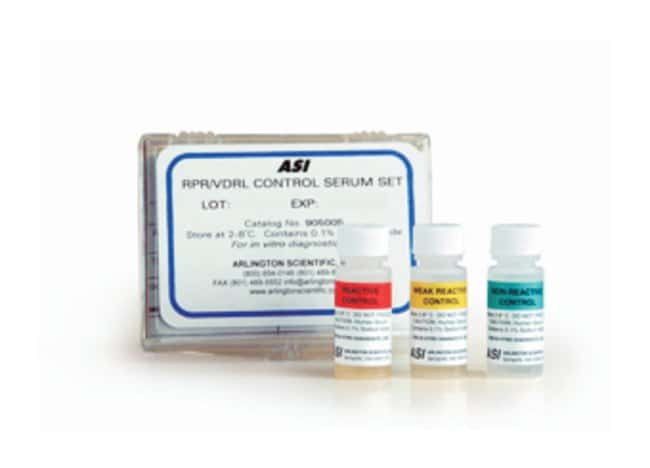 Arlington Scientific RPR Controls Contains 3 x 2.5mL:Diagnostic Tests and