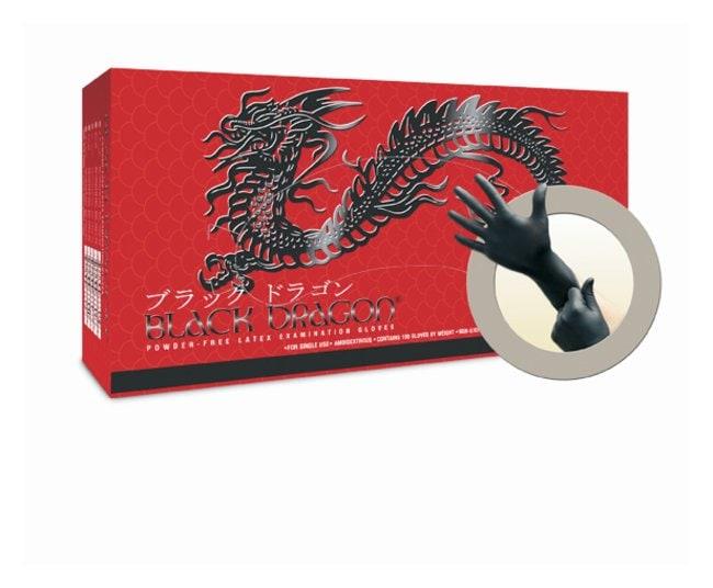 Microflex™Black Dragon™ Powder-Free Latex Exam Gloves