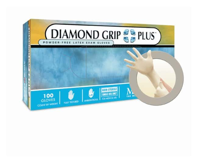 Microflex™ Diamond Grip™ Plus Powder-Free Latex Gloves