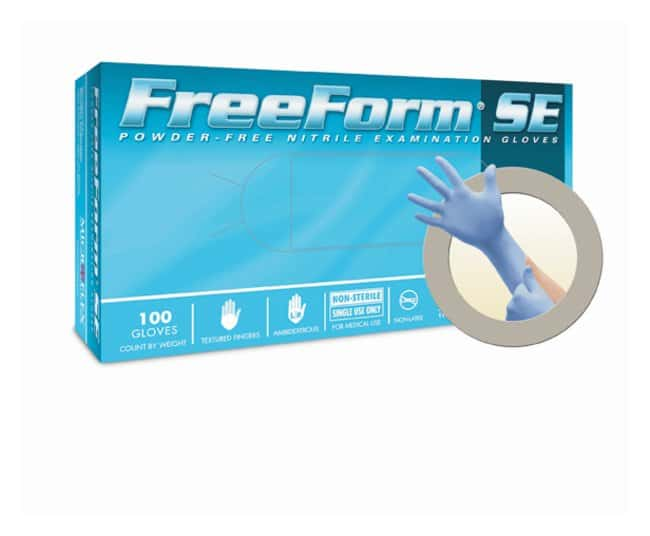 Microflex FreeForm SE Powder-Free Nitrile Exam Gloves  Size: X-Small:Gloves,
