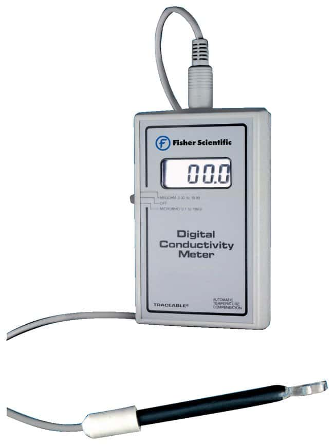 Digital Conductivity Meter : Fisherbrand™ traceable™ conductivity and resistivity meter