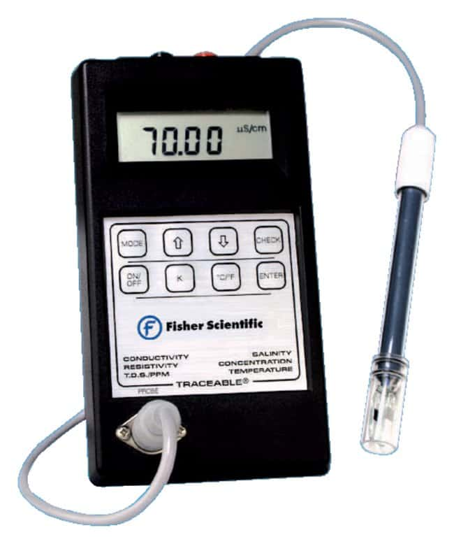 Water Resistivity Meter : Fisherbrand™ traceable™ conductivity resistivity and tds