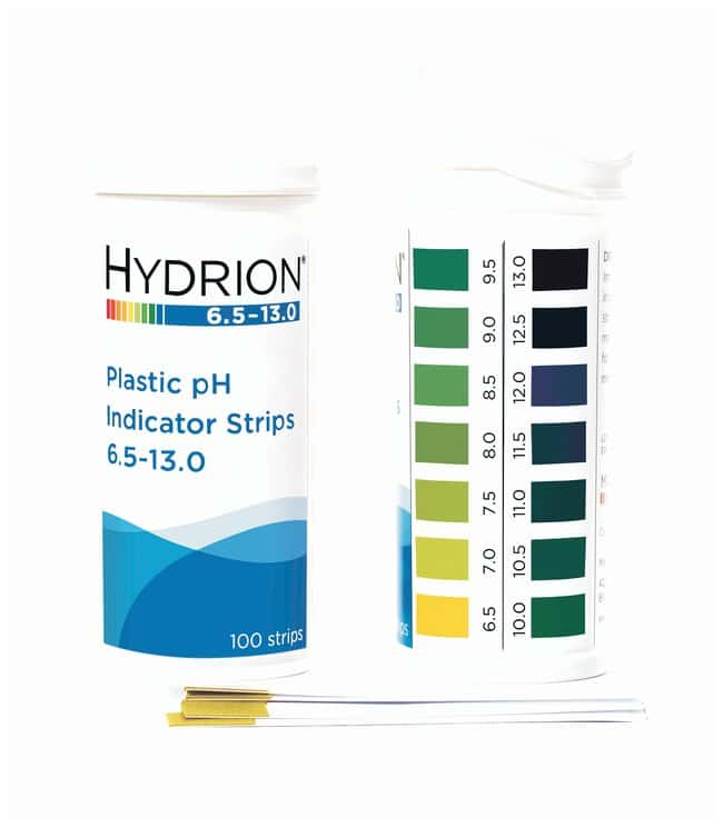 Micro Essential Lab Hydrion™ Spectral 0-14 Plastic pH Strips