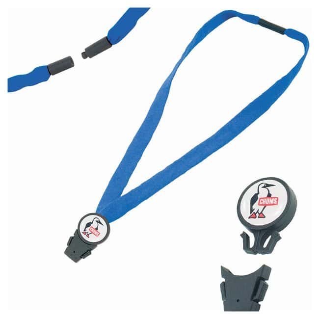 Chums 3/4in. Detachable Breakaway Lanyards Royal:Gloves, Glasses and Safety
