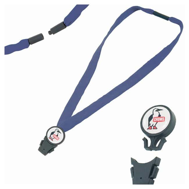 Chums 3/4in. Detachable Breakaway Lanyards Navy:Gloves, Glasses and Safety