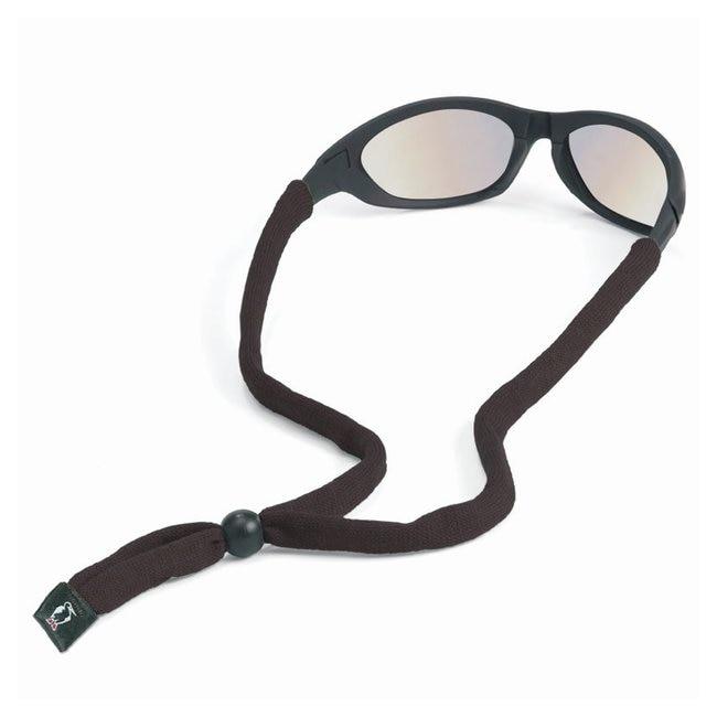 Chums Original Cotton Standard End Eyewear Retainers Black; SIM1 Logo:Gloves,
