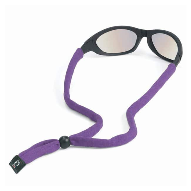 Chums Original Cotton Standard End Eyewear Retainers Purple:Gloves, Glasses