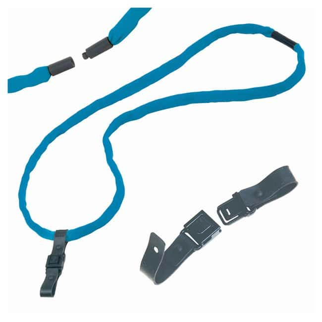 Chums 1/2 in. 2-ply Cotton Breakaway Lanyards Royal with RHOOK 2:Gloves,
