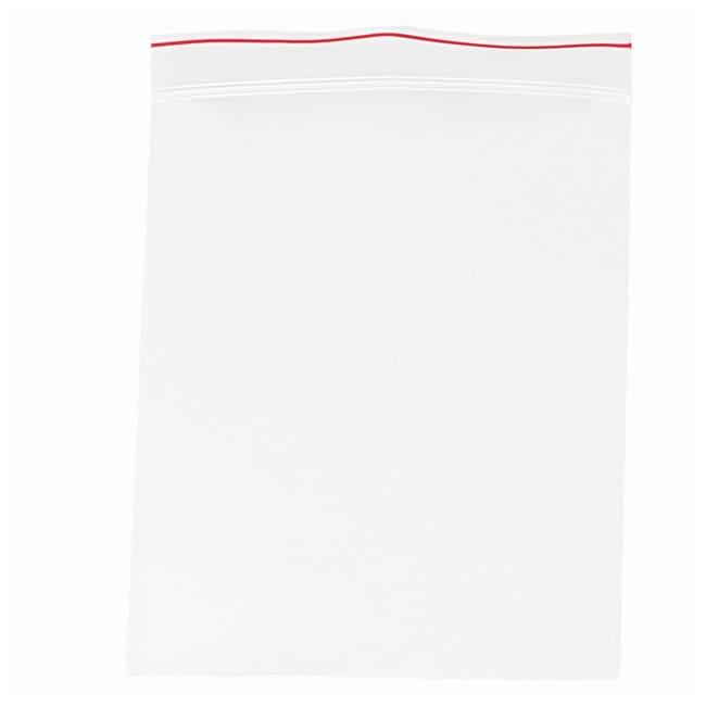 Minigrip Red Line Plain Reclosable Zipper Bags Dimensions: 9 x 12 in. (22.8
