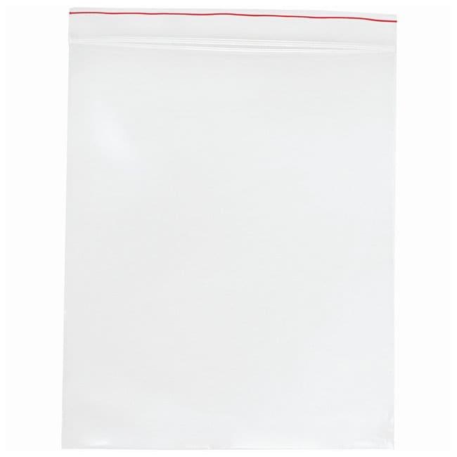 Minigrip Red Line Plain Reclosable Zipper Bags Dimensions: 13 x 20 in.